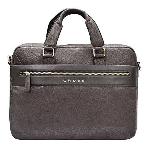 Cross Men's Nueva FV Leather Briefcase (Oak Brown)