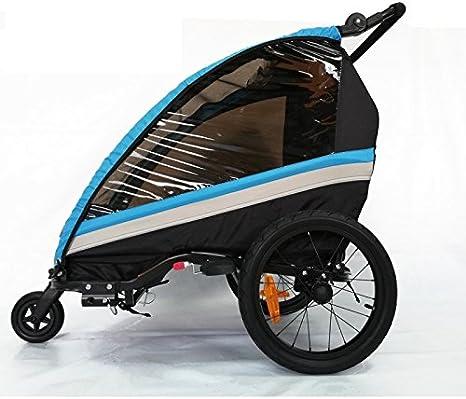 RBO Remolque de Bicicleta para niños One, Carrito de Bicicleta ...