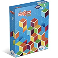 Geomagworld USA GMW120 Magicube Multicolor Cubes - Set of 30