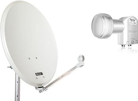 Opticum QA 60/acciaio antenna satellitare 60/cm