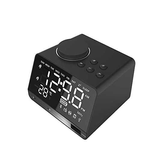Household appliances Espejo LED Radio Digital Reloj Despertador ...