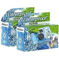 Fujifilm Disposable QuickSnap Waterproof Pool Underwater 35mm Camera, Pack of 2 photo