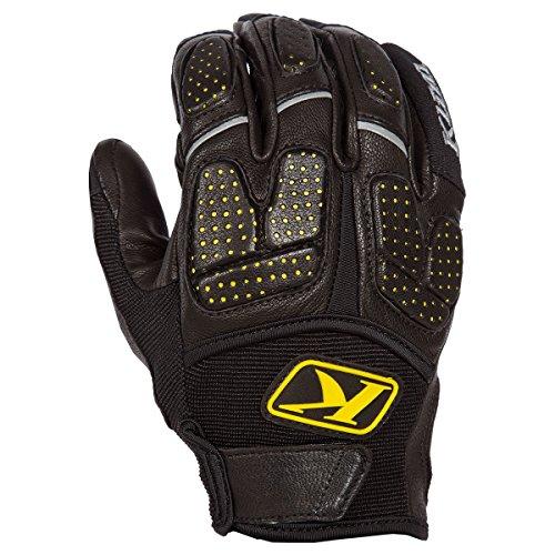 Adventure Gloves (Klim Dakar Pro Glove Black- Medium)