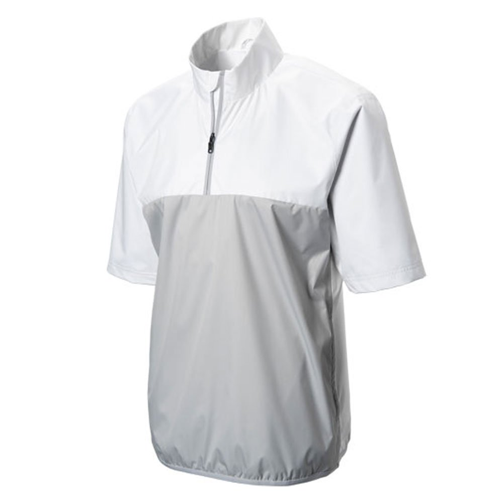 adidas Golf Climatstorm Provisional Short sleeve Rain Jacket, White, XX-Large