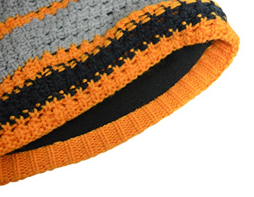 50d86a001e6 Amazon.com   Simms Chunky Beanie - Tangerine - One size fits all   Sports    Outdoors