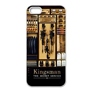 Custom iPhone 5,5S Case, Zyoux DIY New Fashion iPhone 5,5S Cover Case - Kingsman The Secret Service