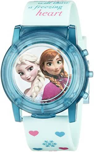 Disney Kids' FZN3821SR Digital Display Analog Quartz Blue Watch