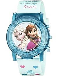 Kids' FZN3821SR Digital Display Analog Quartz Blue Watch