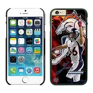NFL Denver Broncos Jim Leonhard Case Cover For Apple Iphone 6 4.7 Inch Black NFL Case Cover For Apple Iphone 6 4.7 Inch 12735
