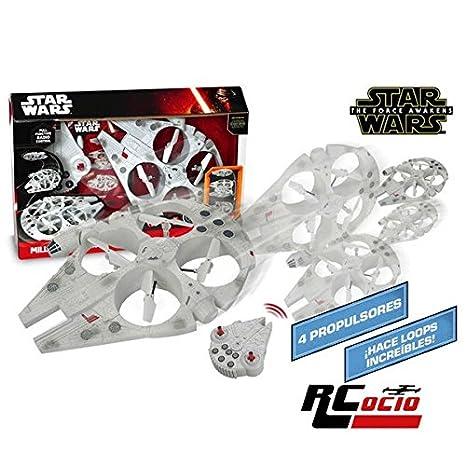 Star Wars Halcon Milenario Drone RC: Amazon.es: Juguetes y juegos