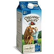 Organic Valley, Organic 2% Reduced Fat Milk, Ultra Pasteurized, Half Gallon, 64 oz