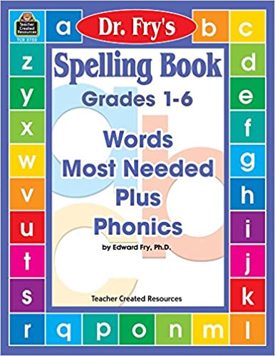 Amazon com: Spelling Book: Words Most Needed Plus Phonics by Dr  Fry
