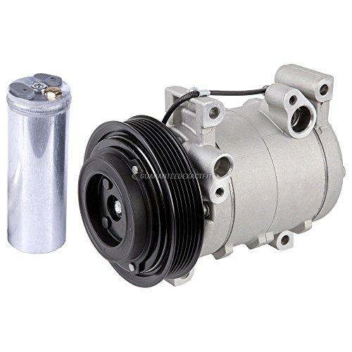 Premium Quality New AC Compressor & Clutch With A/C Drier For Honda And Isuzu - BuyAutoParts 60-86340R2 - Compressor Passport Honda A/c
