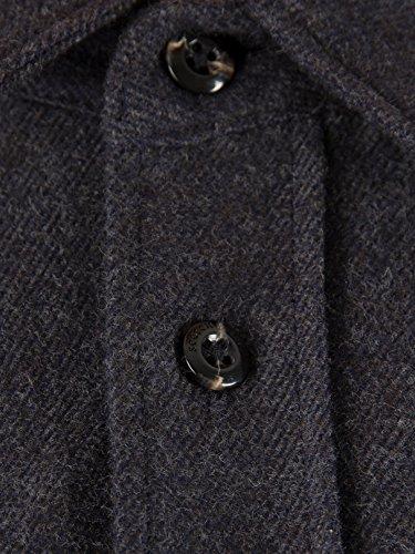 Scotch & Soda Men's Made with Love Shirt, Grey, Small by Scotch & Soda (Image #1)