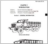 US Army, Technical Manual, TM 9-2320-272-10, TECHNICAL MANUAL OPERATOR'S MANUAL FOR TRUCK, 5-TON, 6X6, M939, M939A1, AND M939A2 SERIES TRUCKS (DIESEL), ... Manuals, Army Manuals, Army Field Manuals