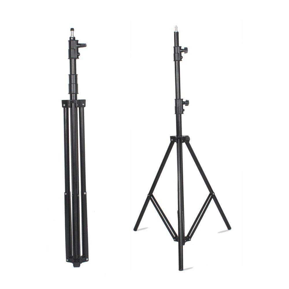VILTROX LS-190 Light Stand 75''/6 Feet 190CM Photography Light Stand for LED Light, Flash,Relfectors, Softboxes, Umbrellas, Backgrounds