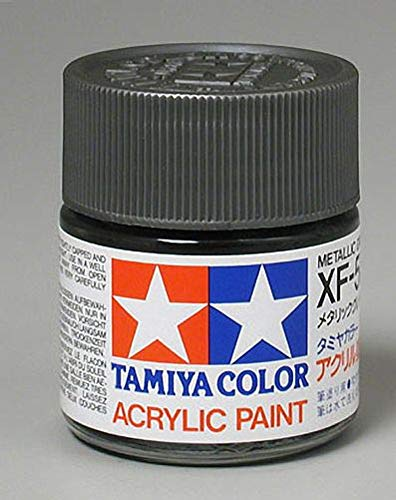 Tamiya America, Inc Acrylic XF56, Flat Metal Gray, TAM81356