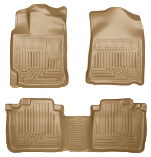 Husky Liners 98903 WeatherBeater Combination Front & 2ND Seat Floor Liners - (3