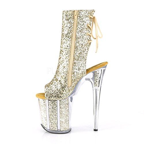1018G FLAMINGO Pleaser Boots M GG Womens vEaq1U