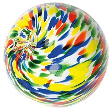 Art Glass Round Glass Garden Pond Splash Flutter Multi Colored Spheres 4