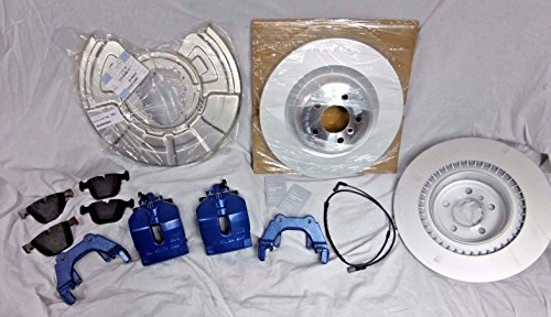 BMW OEM E70 E71 F15 X5 M X6 M Blue Brembo Rear Brake Kit Pads Calipers Rotors