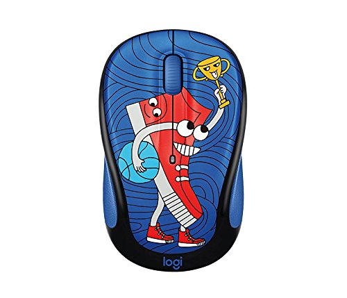 (Logitech M325C Kids Wireless Mouse - Doodle Collection - Sneakerhead)