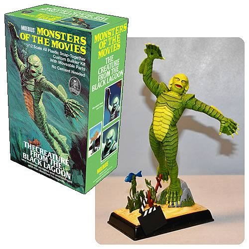 Qiyun Discontinued Moebius re Aurora The Creature from The Black Lagoon New in The CE