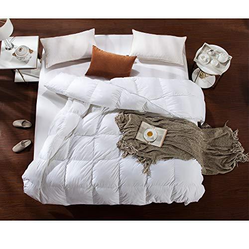 aikoful goose down comforter king cali king size lightweight import it all. Black Bedroom Furniture Sets. Home Design Ideas