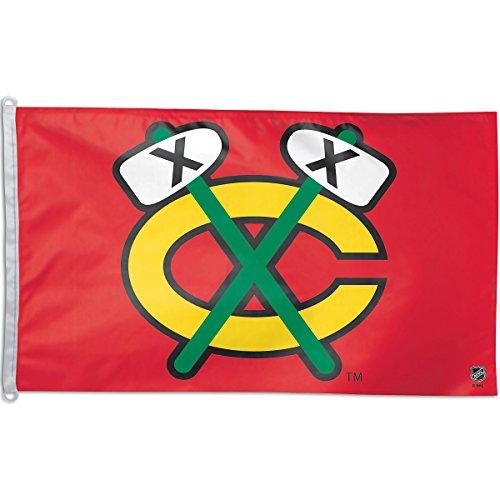 Wincraft Chicago Blackhawks Tomahawk 3'X5' Flag