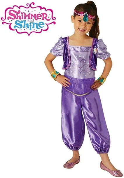 DISBACANAL Disfraz Shimmer de Shimmer and Shine niña - -, 3-4 años ...