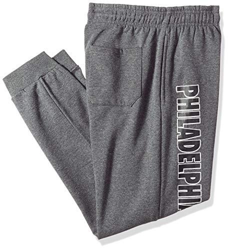 UNK NBA Men's Standard Jogger Pants Active Overtime Fleece Sweatpants, Charcoal, XX-Large