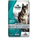 Nulo All Natural Dog Food: Freestyle Limited Plus Grain Free Puppy & Adult Dry Dog Food - Limited Ingredient Diet Digestive & Immune Health - Allergy Sensitive Non GMO Salmon Recipe - 10 lb Bag