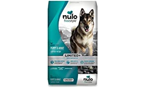 Nulo Puppy & Adult Freestyle Limited Plus Grain Free Dry Dog Food: All Natural Limited Ingredient Diet For Digestive & Immune Health - Allergy Sensitive Non Gmo (Salmon Recipe - 10 Lb Bag)