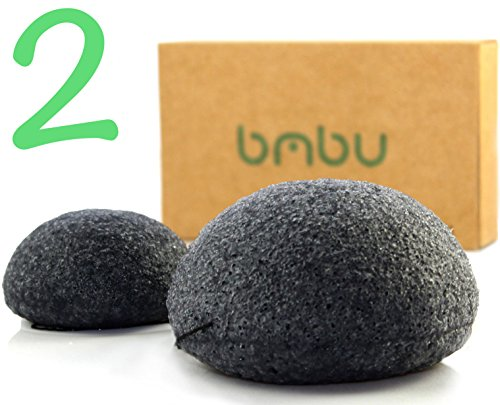Konjac Sponge Pack Activated Charcoal