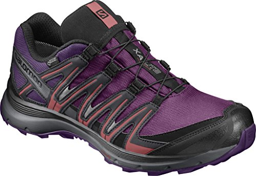 Salomon Xa Lite Gtx W, Zapatillas de Trail Running para Mujer Morado (Grape Juice/Acai/Phantom)
