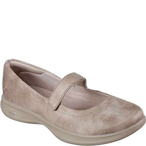 Go Incantevole Step Donna 578 Taupe Skechers14730 Lite Cwpx0