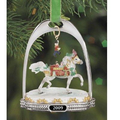 2009 Nutcracker Ornament - Breyer 2009 Nutcracker Prince Holiday Stirrup Ornament