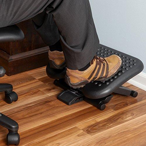 Best Foot Rests For Desks White Double Pedestal Desk