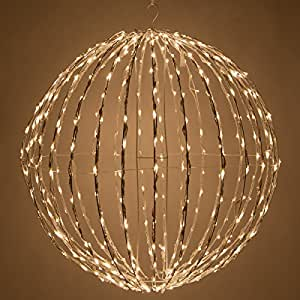 Amazon Com Led Light Ball Indoor Outdoor Christmas Light Balls Light Spheres Outdoor Sphere
