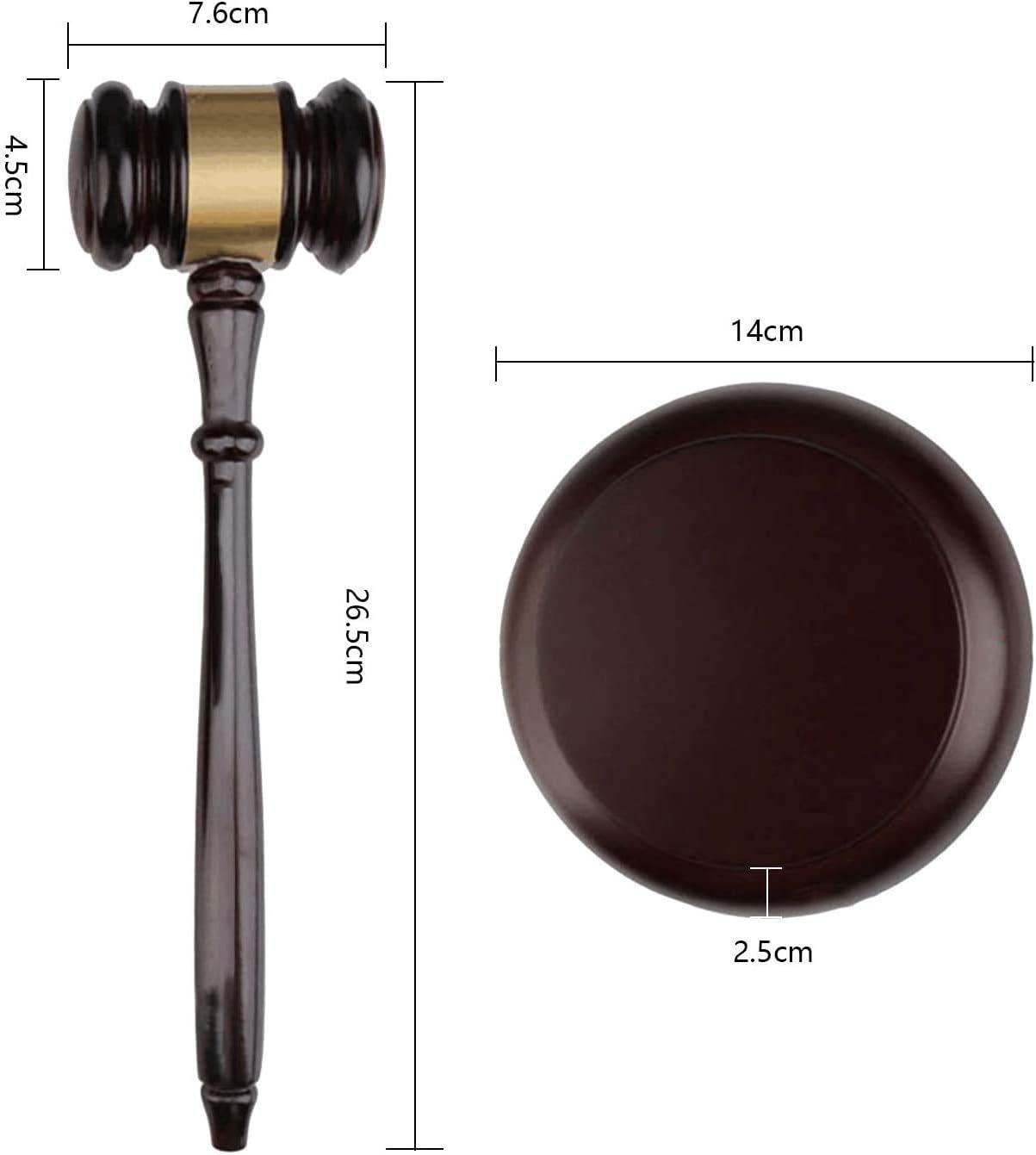 Hothuimin - Juego de martillo de madera y bloque redondo hecho a ...