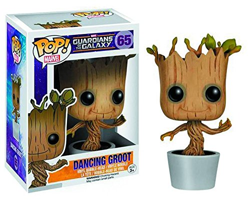 Funko POP! Marvel: Dancing Groot Bobble Action Figure