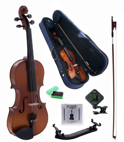 D'Luca CAD01 Orchestral Series Violin Outfit - 1/32 by D'Luca