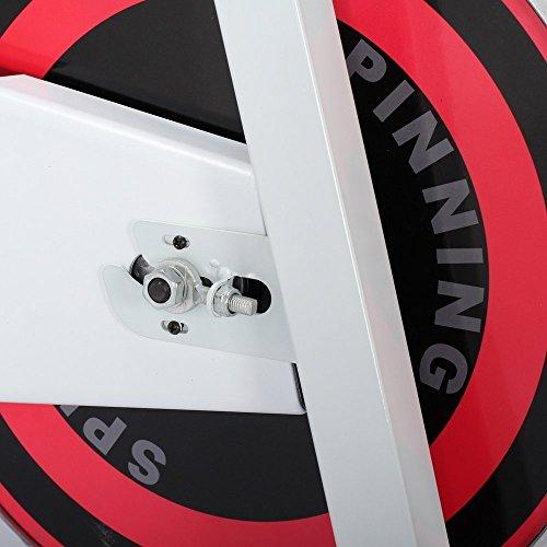 Confidence Fitness Magnetic Adjustable Flywheel Pro Exercise Gym Bike V2