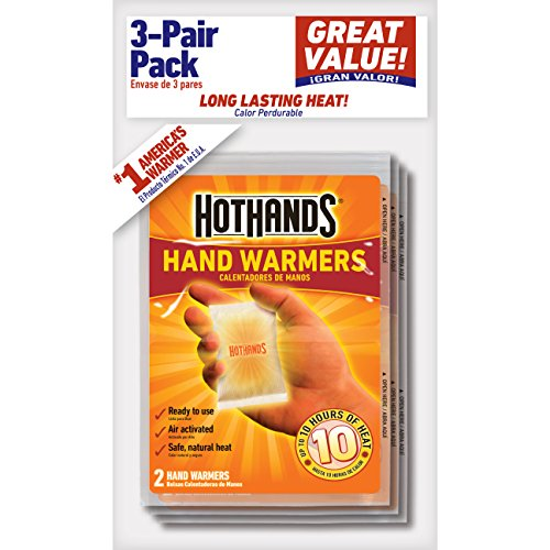 (HotHands Hand Warmers - Long Lasting Safe Natural Odorless Air Activated Warmers - Up to 10 Hours of Heat - 3)