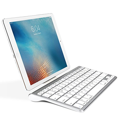 OMOTON Ultra-Slim Bluetooth Keyboard with Sliding Stand, - Keyboard Port Usb Ipad With