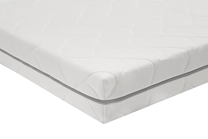 AmazonBasics - Colchón de espuma de 7 zonas extraconfortable 90 x 200 cm: Amazon.es: Hogar