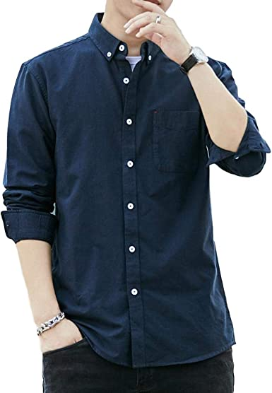 Miwaimao - Camisa de manga larga para hombre japonesa de ...