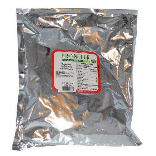 Frontier Bulk Vegetable Soup Blend, CERTIFIED ORGANIC, Bulk 1 lb ()