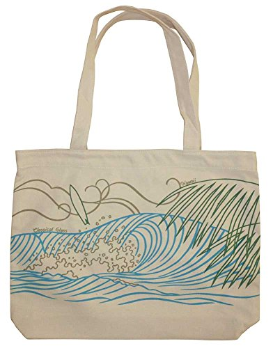 Ecolicious Your Swell 100% Cotton Canvas Tote Bag from Hawaii by Ecolicious