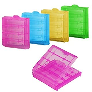 SODIAL(TM) 5x Hard Plastic Case Holder Storage Box for AA / AAA Battery (Color may vary) (B00CKIY99I) | Amazon price tracker / tracking, Amazon price history charts, Amazon price watches, Amazon price drop alerts